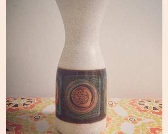 West German ceramic vase from Dümler & Breiden. 141/20