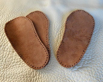 Double Soles for Moccasins
