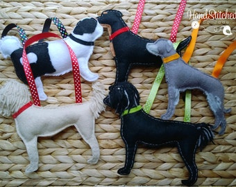Dog Breed Hanging Decorations