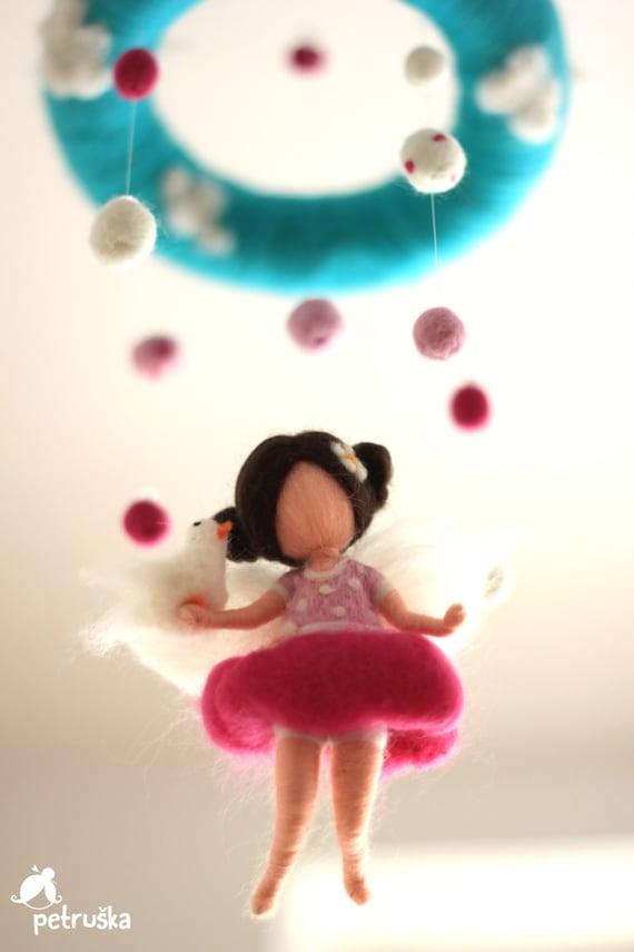 geistig rosa fee mobile home dekor dekor baby kinderbett. Black Bedroom Furniture Sets. Home Design Ideas