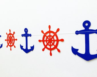 Anchors Aweigh Nautical Garland