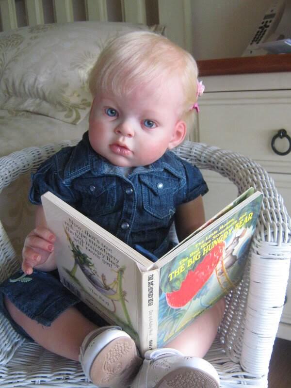 Custom Arianna Kit Toddler Reborn Baby Doll Boy Or Girl 28