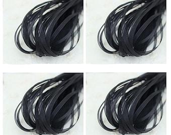 20 yd Black Organza Ribbon-3mm
