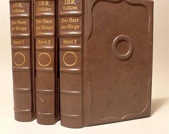 Tolkien the LOTR Edition EA 69 70 leather bound unique 3 volumes