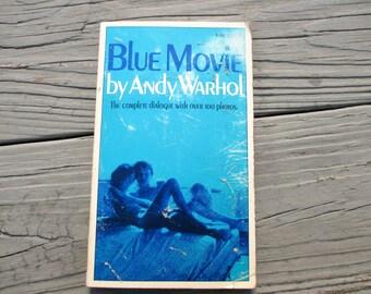 1970 Blue Movie by Andy Warhol
