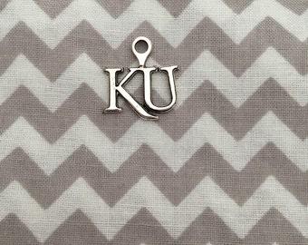 University of Kansas KU Jayhawk Charm