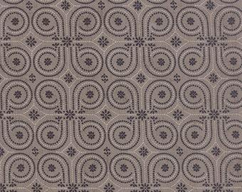 Black Tie Affair Vintage Wallpaper Grey by Basic Grey for Moda, 1/2 yard, 30428 15