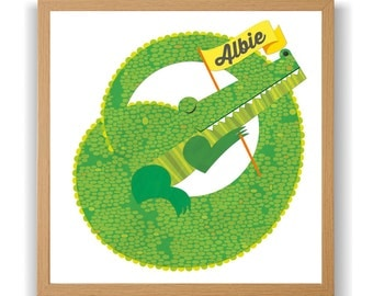 Sleeping Crocodile - Add a name