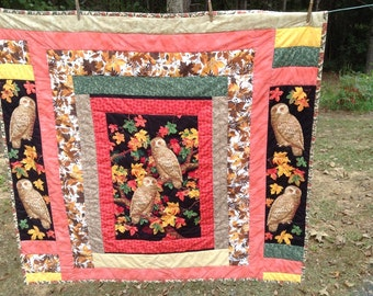 Owl Quilt /Wallhanging