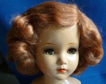 Vintage Arranbee (R & B) Composition 21 Inch Doll with Mohair Wig