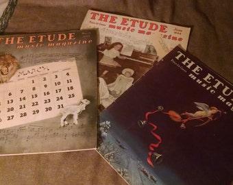 1944 Etude music magazines