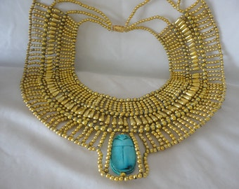 Egyptian Inspired Costome Necklace*****++++++++
