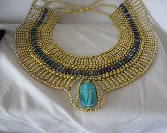 Uniquely Hand Made Queen Cleopatra Necklace.*****