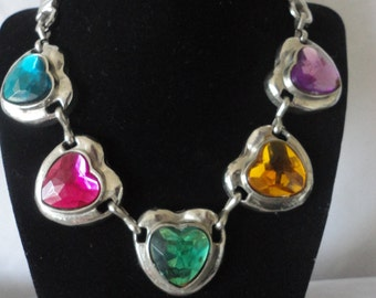 Fabulous Stainless Steel Heart Necklace******.