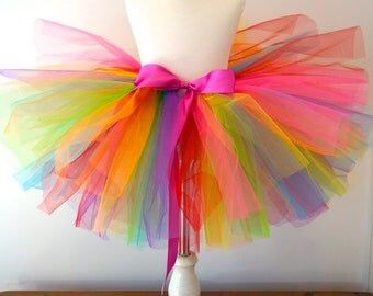 Rainbow Tutu - Girl's Rainbow Tutu - Kid's Rainbow Tutu