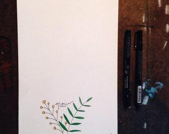 Grow - Simple Handmade Illustration