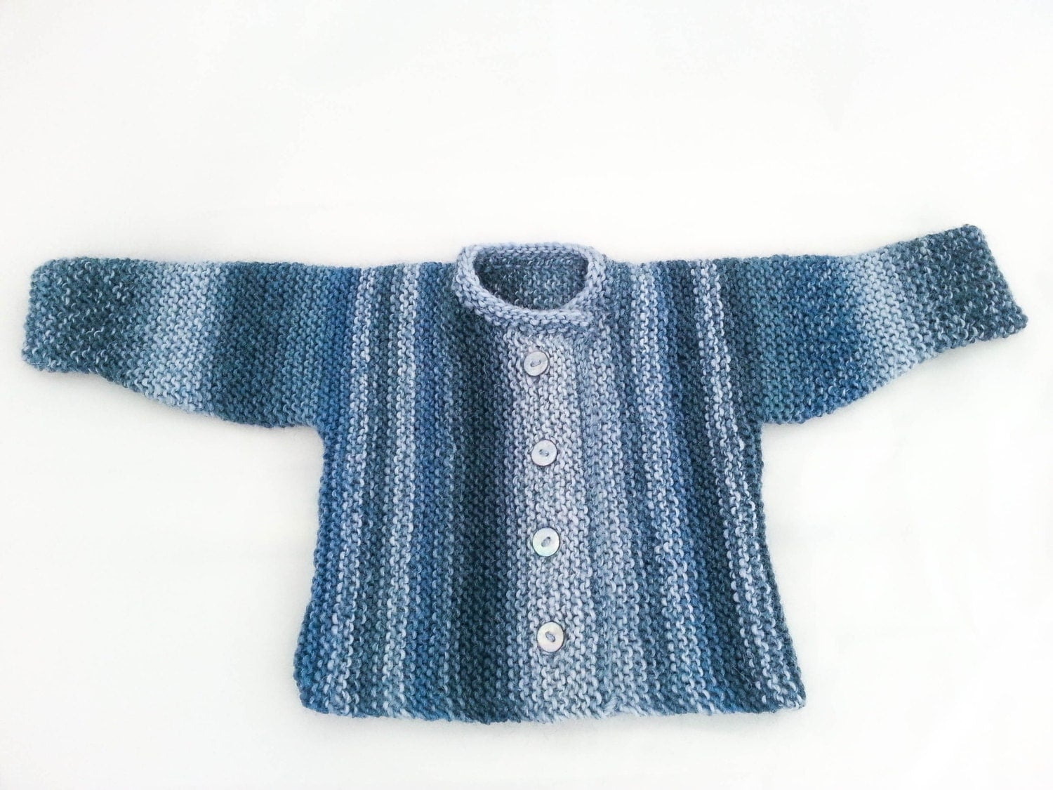 Knitting pattern garter stitch baby cardigan baby sweater 5 this is a digital file bankloansurffo Image collections