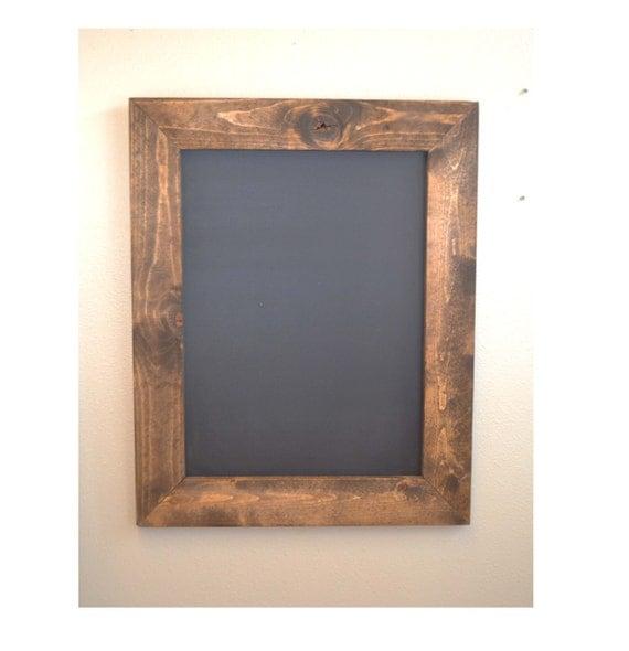 Rustic Chalkboard 30x24 Framed Chalkboard Kitchen