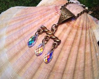 Necklace 'Third Symbol' - Swarovski.