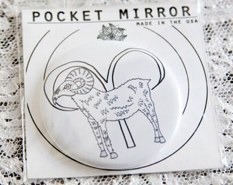 Astrology Pocket Mirrors: Aries