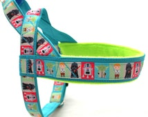 Norway blue harness with Star Wars. For dog, IG, sighthounds, chihuahua, pugs, bulldogs, Italian greyhound, maltipoo, york, poodle, whippet