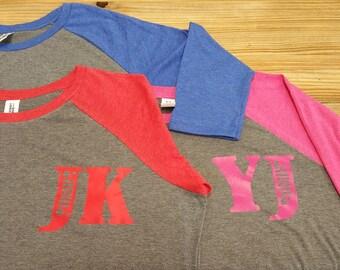 Baseball T Shirt - Womens - Red Shirt