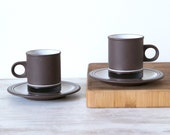 Pair of Hornsea Contrast Coffee Cups