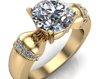 Ursula Ring  Etsy. Wedding Kate Middleton Wedding Rings. Marriage Anniversary Wedding Rings. Rosados Box Wedding Rings. Coper Rings. Him And Her Wedding Rings. Unique Engagement Single Stone Wedding Rings. Name Rings. Onyx Rings