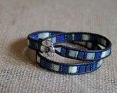 Doublewrap Tila Bracelet #10026