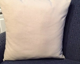 Drop Cloth Envelope Style Pillow Cover