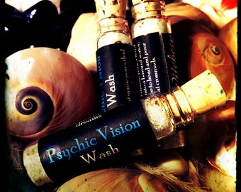 Psychic Vision Dust, Oil, Incense, & Wash ~ Witchcraft ~ Wiccan ~ Spell ~ Craft ~ incense ~ ritual wash