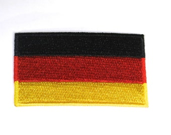 "Iron-on ""Germany flag"", applique, application (P108)"