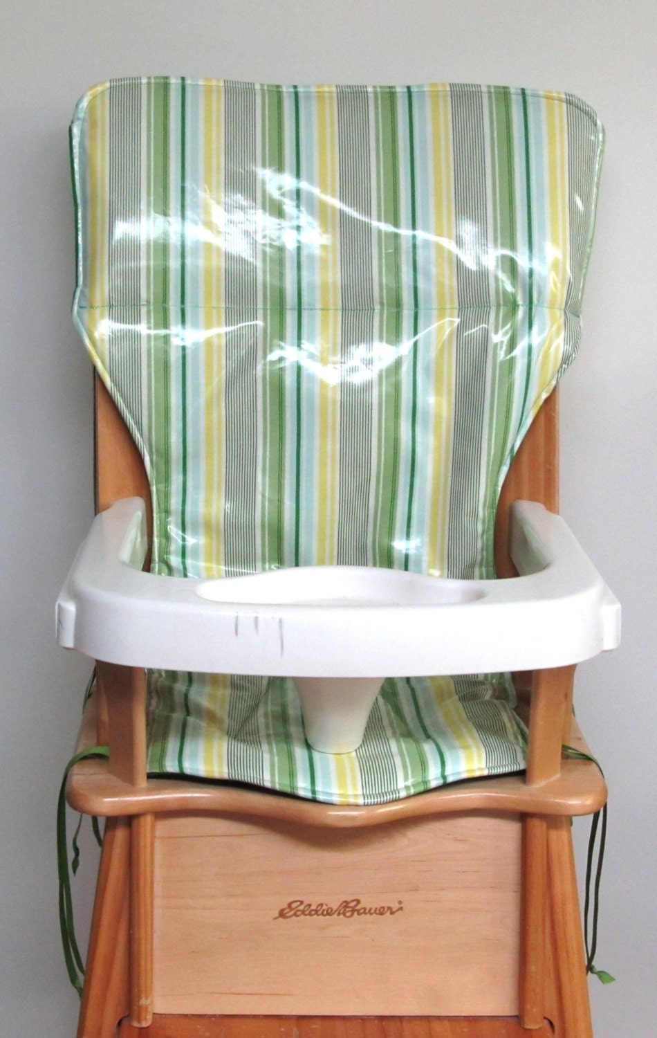 high chair cover laminated cotton wooden by sewingsillysister
