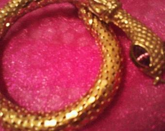 Snake Bracelet Whiting and Davis