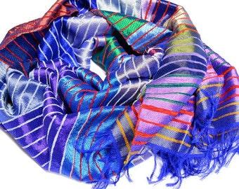 moroccan silk scarf etsy