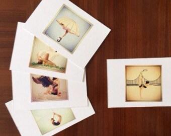 Yoga Inspired postcards Big set
