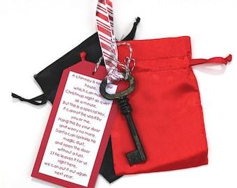 Christmas Key - Christmas Eve Key - Santa Claus Key - Christmas Decoration - Santa Key - Magic Key - Santa's Magic Key - Christmas Ornament
