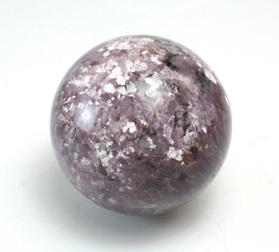 Lepidolite Sphere, M-1842
