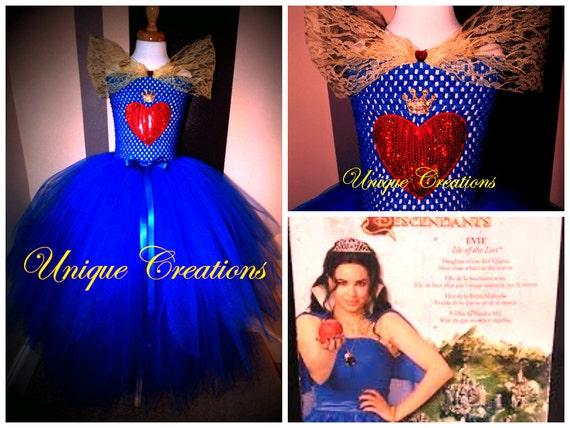 Evie From Descendants Inspired Coronation Tutu Dress