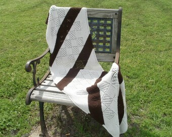 Striped Rectangular Shawl