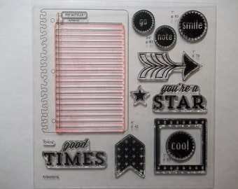 TAKE NOTE -- D1574.  Part of the Cricut Bundle set, from Close to My Heart.  Gently used.  Ready for your personal stash.