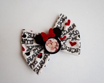 Minnie and Mickey Bow