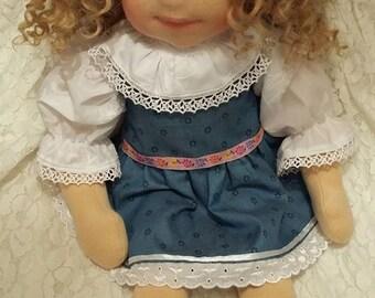"""Waldorf doll Charlotte - 20"""" (50 cm)"""