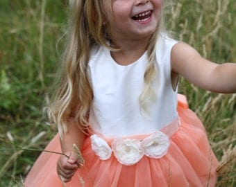 Custom couture full leght TUTU DRESS any COLOR 2-5 years