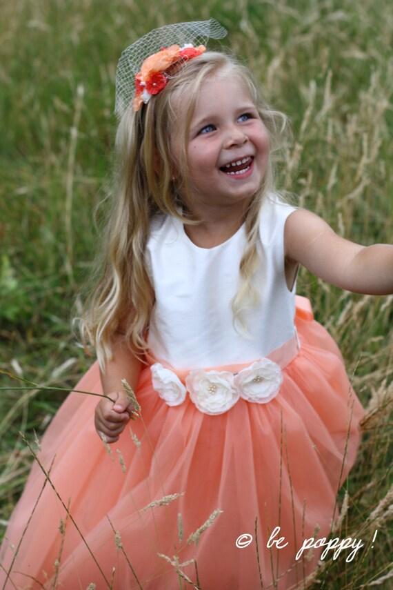 ROBE tutu LONGUE couleur PERSONNALISABLE sur mesure 2 à 5 ans