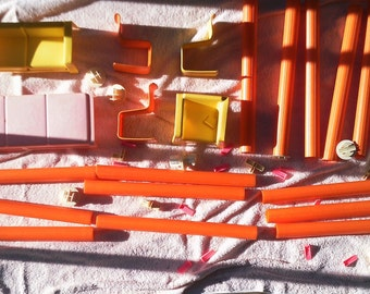 1975 Barbie's Townhouse furniture and connector pieces