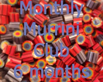 6 Months of Murrini - Subscription to the Monthly Murrini Club, 104 COE