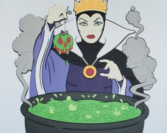 Evil Queen Die Cut - Disney's Snow White and the Seven Dwarfs - Disney's Villains