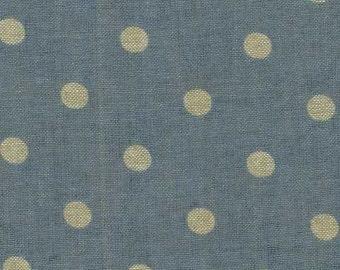 Mas d'Ousvan - Moon Chambray Sevigne Dusty Blue - 1/2yd