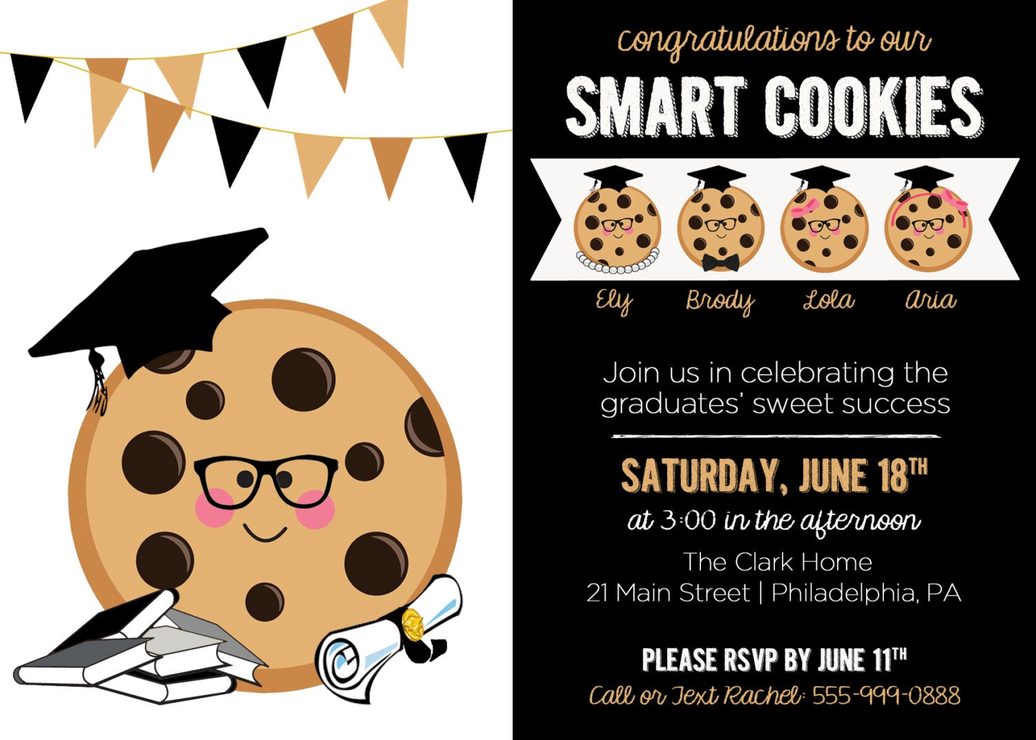 This is a graphic of Priceless One Smart Cookie Printable